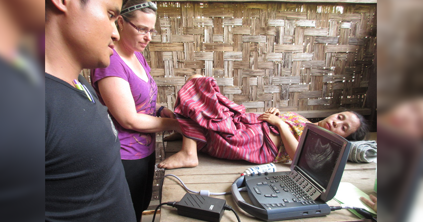 Zedu Ultrasound - taking POCUS to the jungles of south east Asia