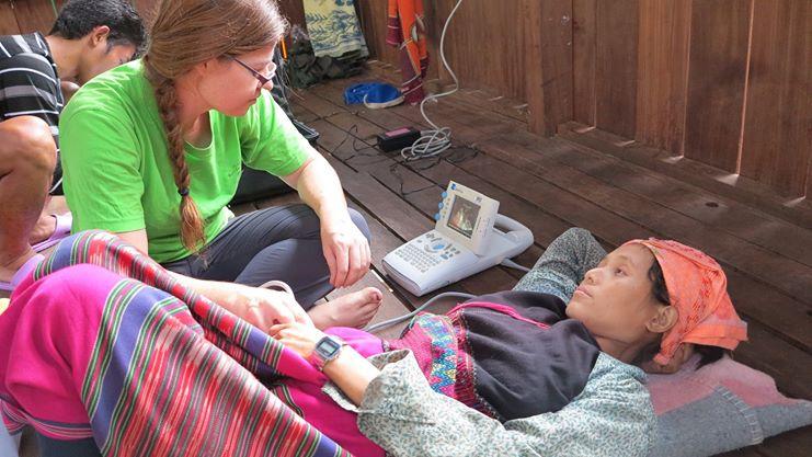 Zedu Ultrasound - helping women around the world