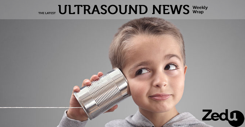 Zedu weekly wrap ultrasound news