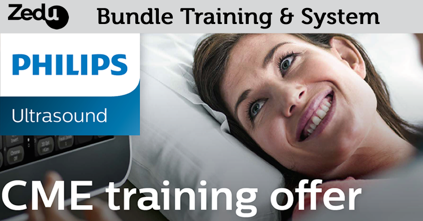 Bundle Zedu training with a Philips ultrasound system & get more from your CME